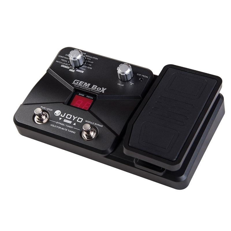 JOYO GEM BOX II Multi Effects Processor Multi Effects Guitar Pedal Guitar Accessories of 66 Effects Multi Pedal enlarge
