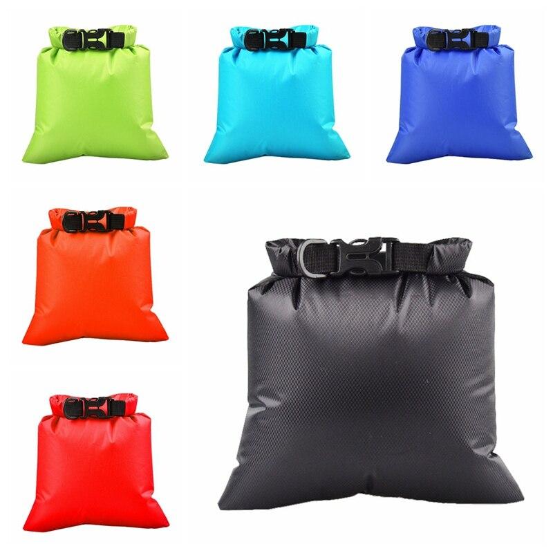 Bolsa impermeable de 3L para exteriores, bolsa seca, saco flotante, bolsas de engranajes secos para canotaje, pesca descenso de ríos, natación
