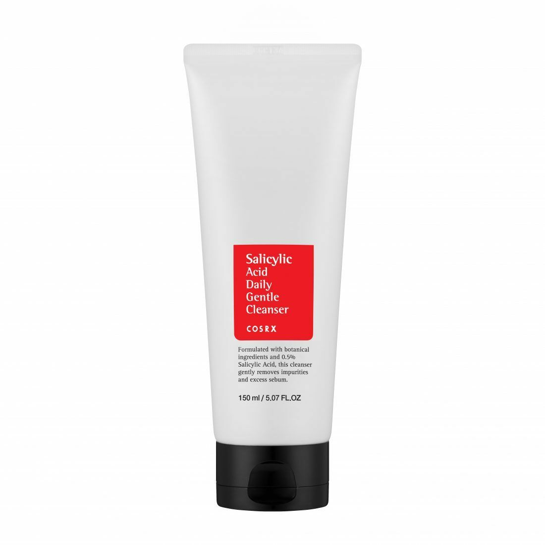 COSRX Salicylic Acid Daily Gentle Cleanser 150ml Facial Cleansing Exfoliating Peeling Deep Clean Acne Blackhead Remove Korean