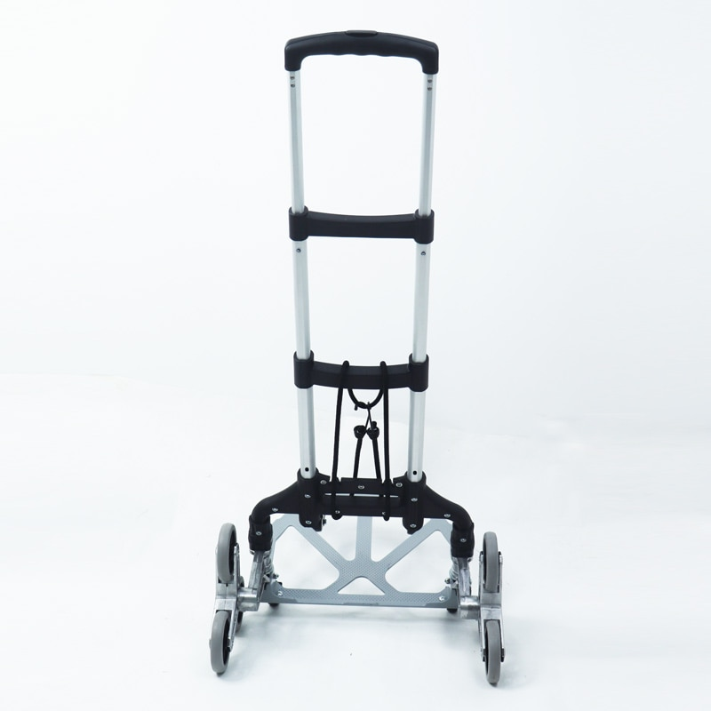 Folding Luggage Cart  Lightweight and Durable Aluminum Alloy Travel Trolley for Luggage, Personal, Travel