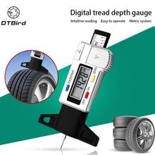 High-Precision Digital Tread Depth Gauge Tire Pressure Wear Detection Meter Measurer For Cars Trucks Tools Electronic Caliper