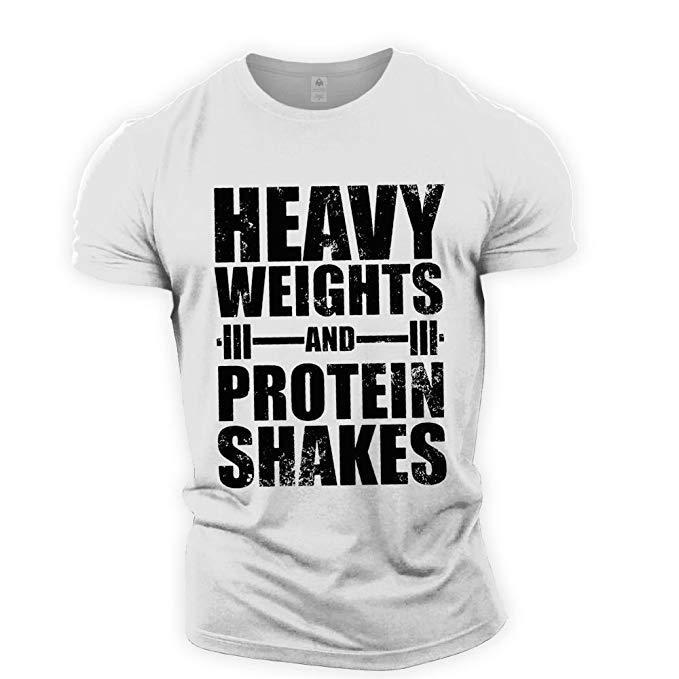 Мужская футболка, тяжелая, Спортивная футболка, Мужская футболка для спортзалов и бега, Спортивная Мужская футболка для фитнеса, футболка б...
