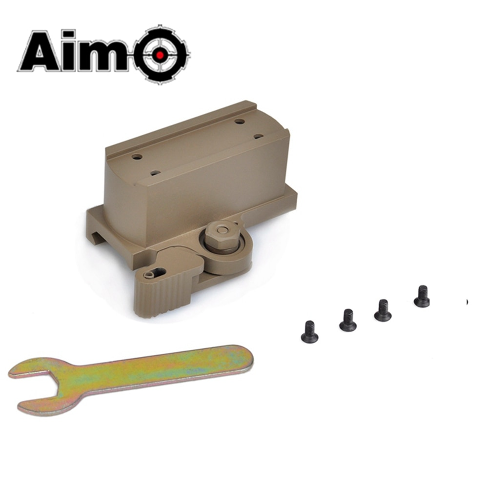 Aim-O Tactical Riflescope Base QD Riser Mount For T1 and T2 Red Dot Sight Scope Softair Telescope Mounts AO1711 Hunting Optics