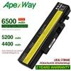 ApexWay 6 cep dizüstü lenovo için batarya L09N6D16 JIGU L09S6D16 L10L6Y01 L10L6Y01 L10N6Y01 L10S6Y01 IdeaPad Y460 Y560 B560 Y560A