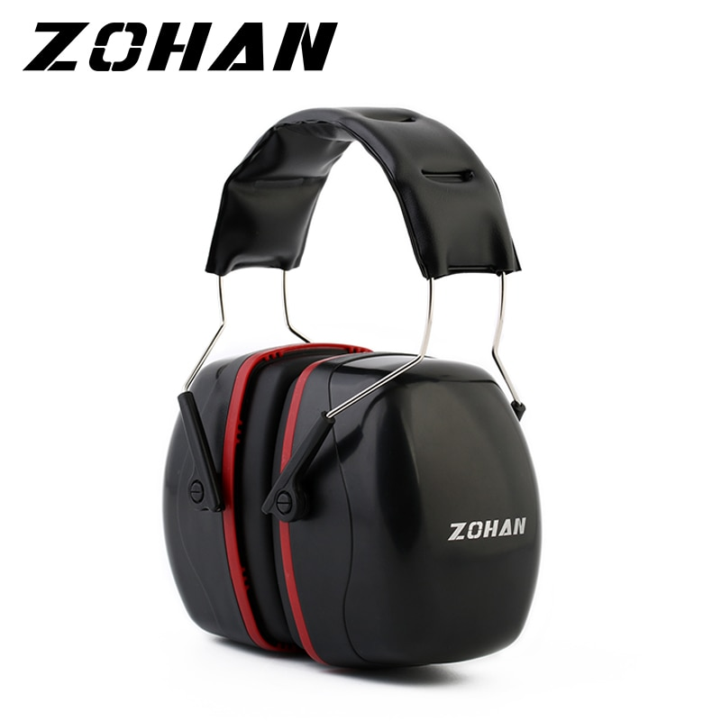 ZOHAN Noise Reduction Safety EarMuffs  Shooters Hearing Protection Earmuffs  Adjustable Shooting Ear Protector Hearing Protector zohan noise cancelling hunting hearing protection safety earmuffs ear defenders adjustable shooting ear protection protector