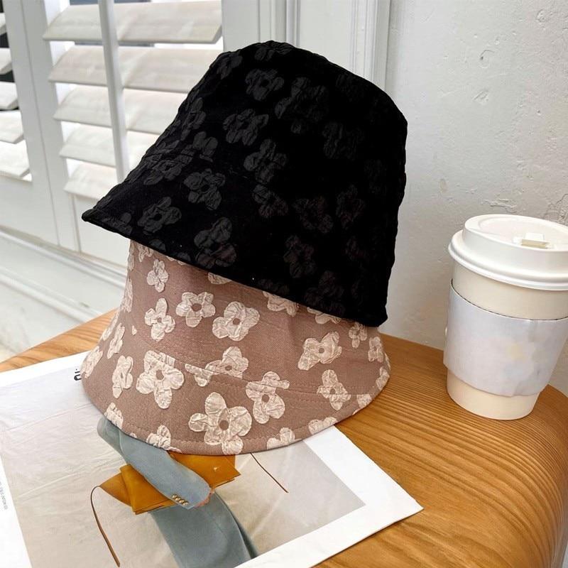 Women's Bucket Hat Cotton Flower Panama Beach Sun Hats Reversible Bob Floral Sun Cap Fisherman Hat Femme Summer Hat недорого