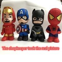 Креативная Игрушка Мстители Человек-паук, большая копилка из ПВХ может сэкономить и взять, украшения для семьи, детский подарок на день рожд...
