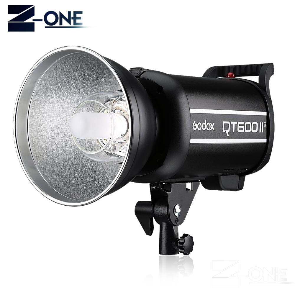 Gratis DHL Godox Pro 600WS HSS 1/8000s QT600II QT-600IIM 110 V/220 V 2,4G inalámbrico sistema estudio iluminación Flash estroboscópico