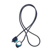 Cable de silicona antipérdida para auriculares Samsung GALAXY, Cable de soporte para auriculares inalámbricos con Bluetooth, correa para el cuello, a prueba de sudor