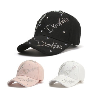 Hat Women'S Tide Casual Duck Tongue Hat Spring And Summer Baseball Cap Net Red Diamond Letters Fashion Sunscreen Sun Hat