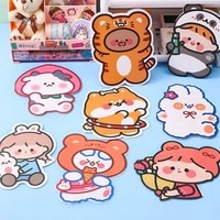 a variety of styles cartoon style postcards folding greeting cards blessingmessage cards full color printing smooth writing