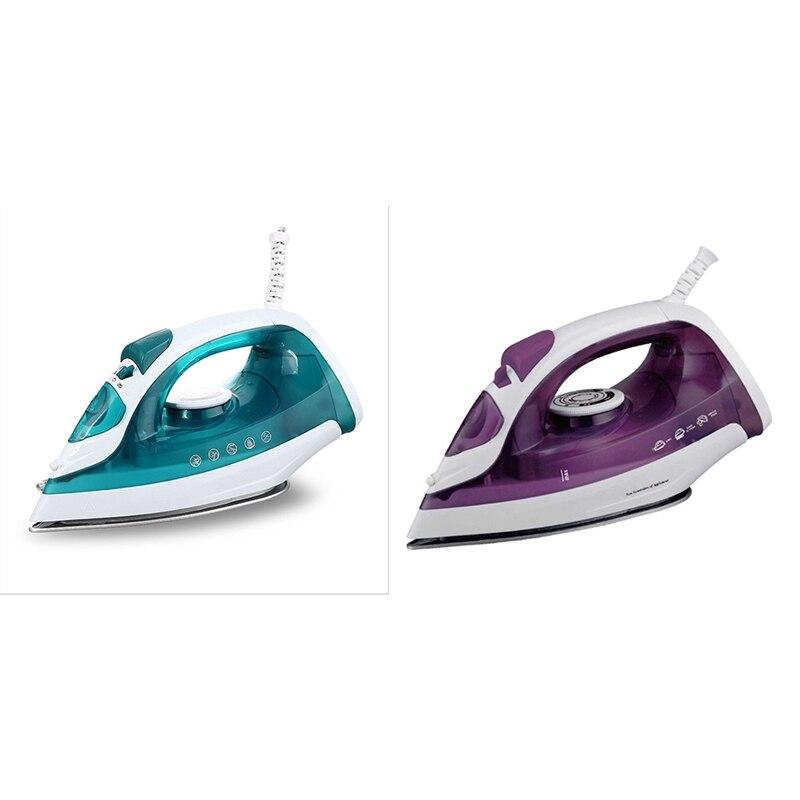 المحمولة آلة تنظيف الملابس بالبخار الكهربائية الصغيرة البخار الحديد للملابس الحديد قابل للتعديل السيراميك soleboard الحديد