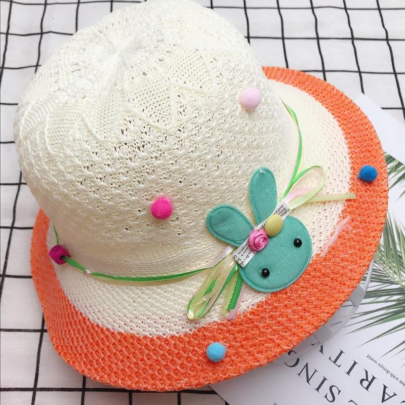 Lindo lazo banda elástica bebé sombrero verano playa sombrilla pescador de gorra sombreros arco pescador sombrero protector solar adecuado verano otoño