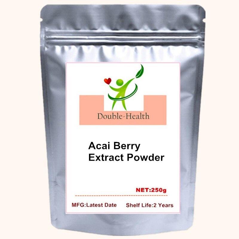 Acai Berry 20:1-extracto en polvo, antioxidante, para una buena salud, energía, vitalidad