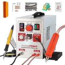 SUNKKO 709AD soudeuse par points 2.2KW haute puissance affichage numérique impulsion Machine de soudage par points stylo portable pour 18650 soudure de batterie au Lithium