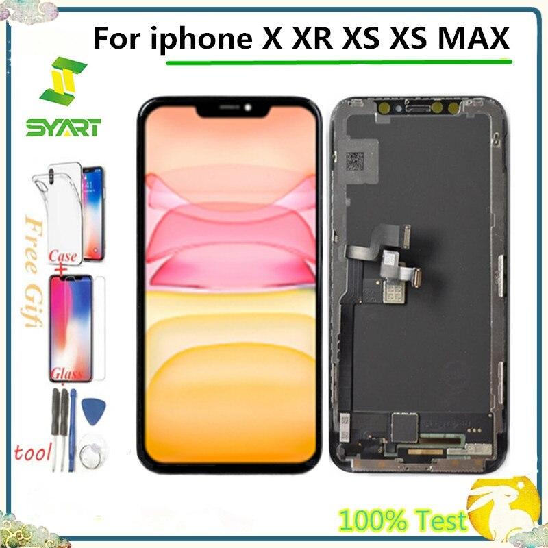 مجموعة استبدال شاشة LCD تعمل باللمس ، لجهاز iPhone X XS MAX 11 PRO ، OEM