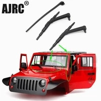 110 rc simulation climbing car plastic weatherproof wiper set for axial scx10 ii 9004647 03007 antenna receiving signal line