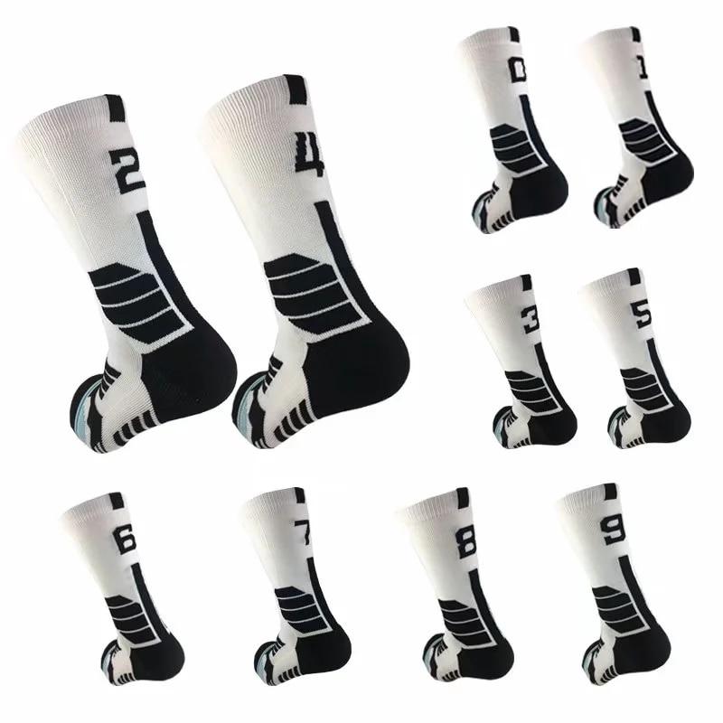 Оптовая продажа, носки, профессиональные спортивные носки, носки бесплатно с 0-9, баскетбольные носки, футбольные носки, спортивные Нескольз...