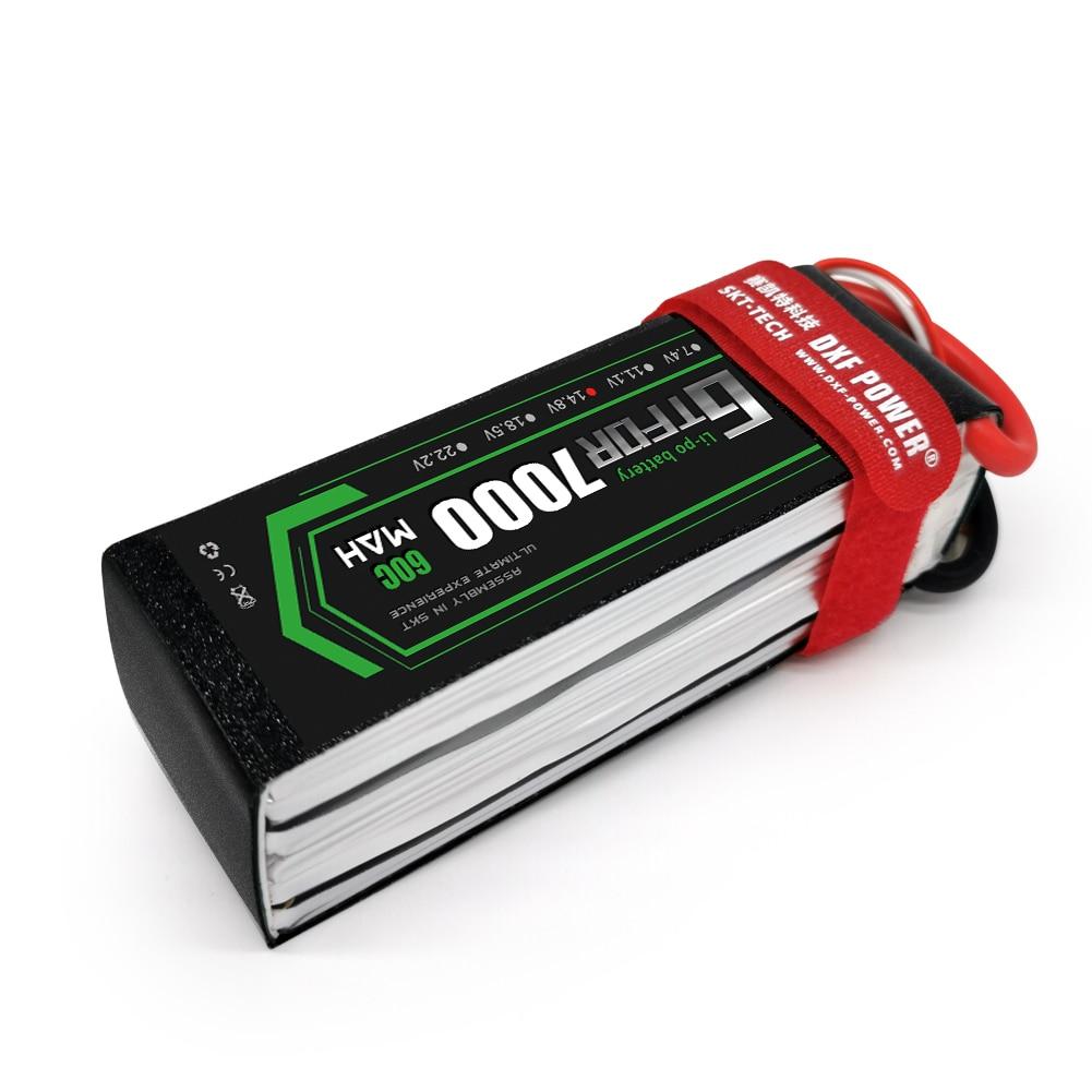 GTFDR lipo battery 2S 3S 4S 7.4V 11.1V 14.8v 7000mAh 8400mAh 60C-120C 110C-220C hardcase For 1/8 1/10 car Helicopter Car Boat enlarge