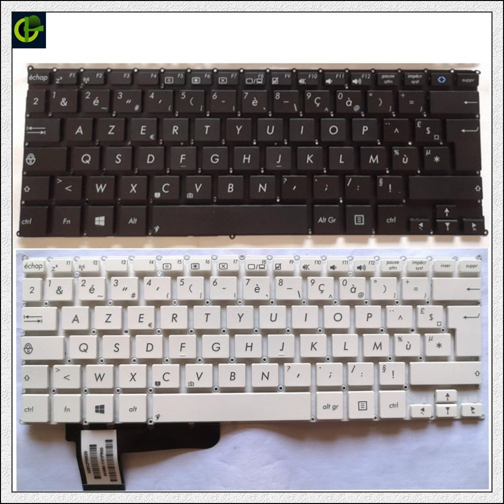 Teclado francés Azerty para Asus VivoBook X200 X200CA X200LA X200MA EeeBook X205T X205TA TP200S TP200SA 0KNB0-1121FR00 FR