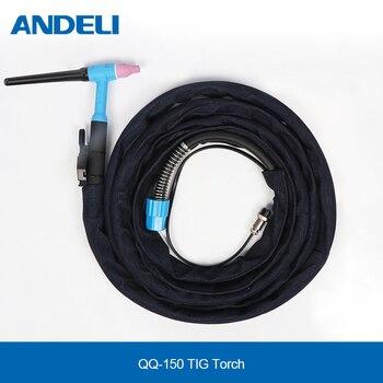 Фонарь для сварки ANDELI TIG, 4 м, для сварочного аппарата TIG, сварочный фонарь TIG Сварочные горелки      АлиЭкспресс