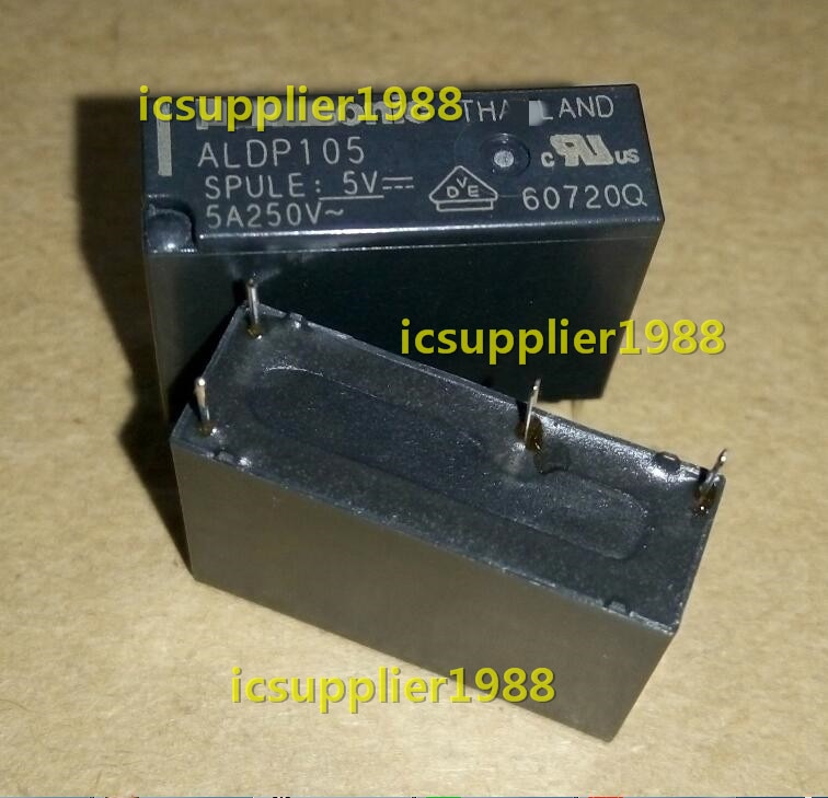 ALDP105W ALDP105 5VDC 5A 250VAC DIP4 10 unids/lote