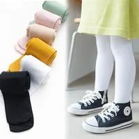 kids pantyhose for girls solid color baby girl leggings ballet dance children velvet kids stockings pantyhose