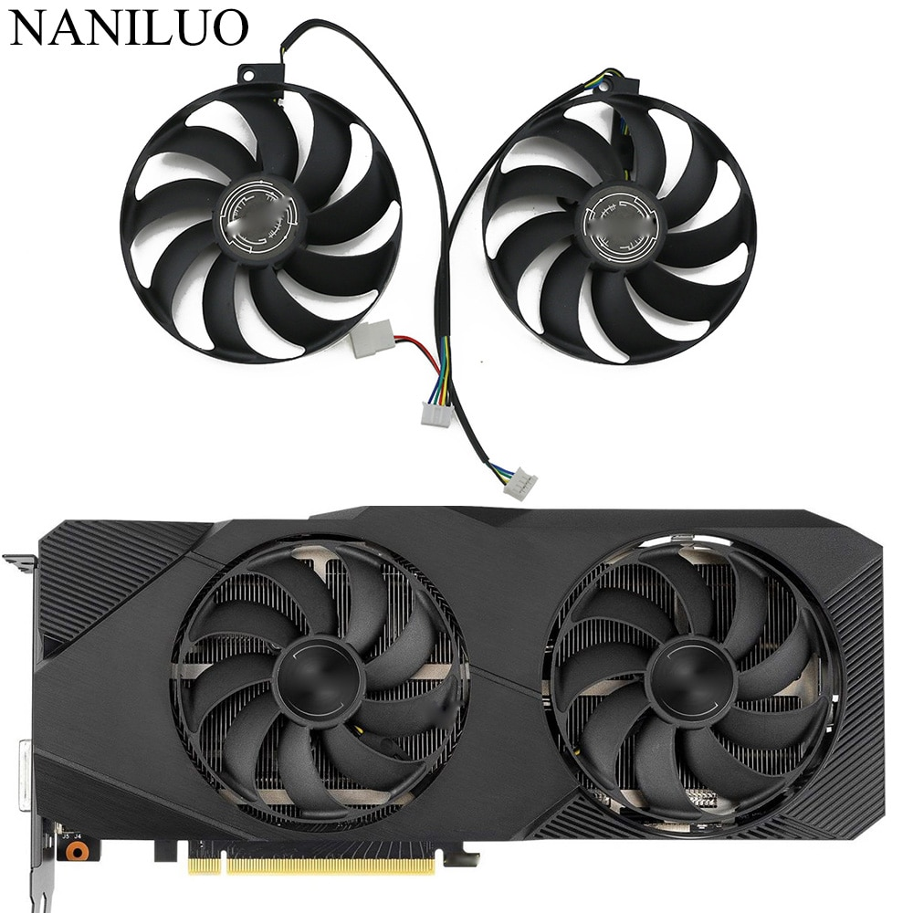 T129215SU Video Card Cooling Fan For ASUS RTX 2060 Super 2070 2080 2080super DUAL EVO Advanced Graphics Card Cooling Fan