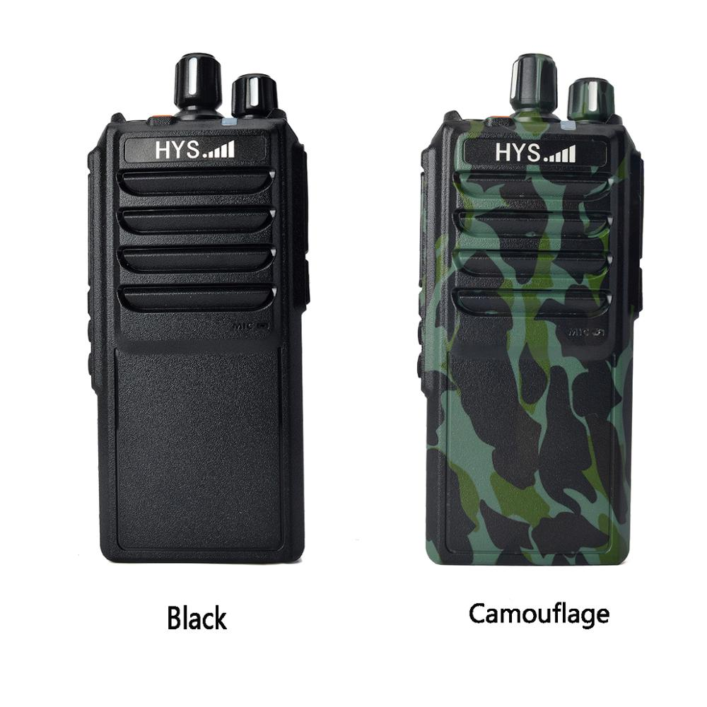 25W Handheld 2PCS Walkie Talkie UHF 400-480MHz Portable Radio for hunting 10 km 4000mAh Two Way Ham Radio enlarge