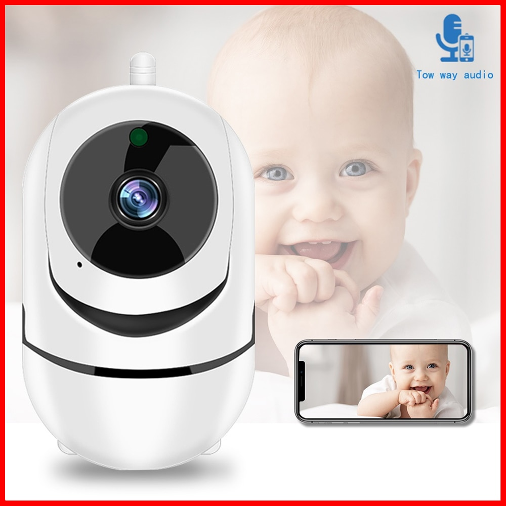 Wifi IP Camera 1080P FHD PTZ Auto Tracking Home Security Night Vision Two Way Audio Wireless CCTV Surveillance Cameras