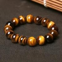 natural high quality collection level tigers eye stone couple bracelet handmade buddha bracelet yoga meditation lucky jewelry