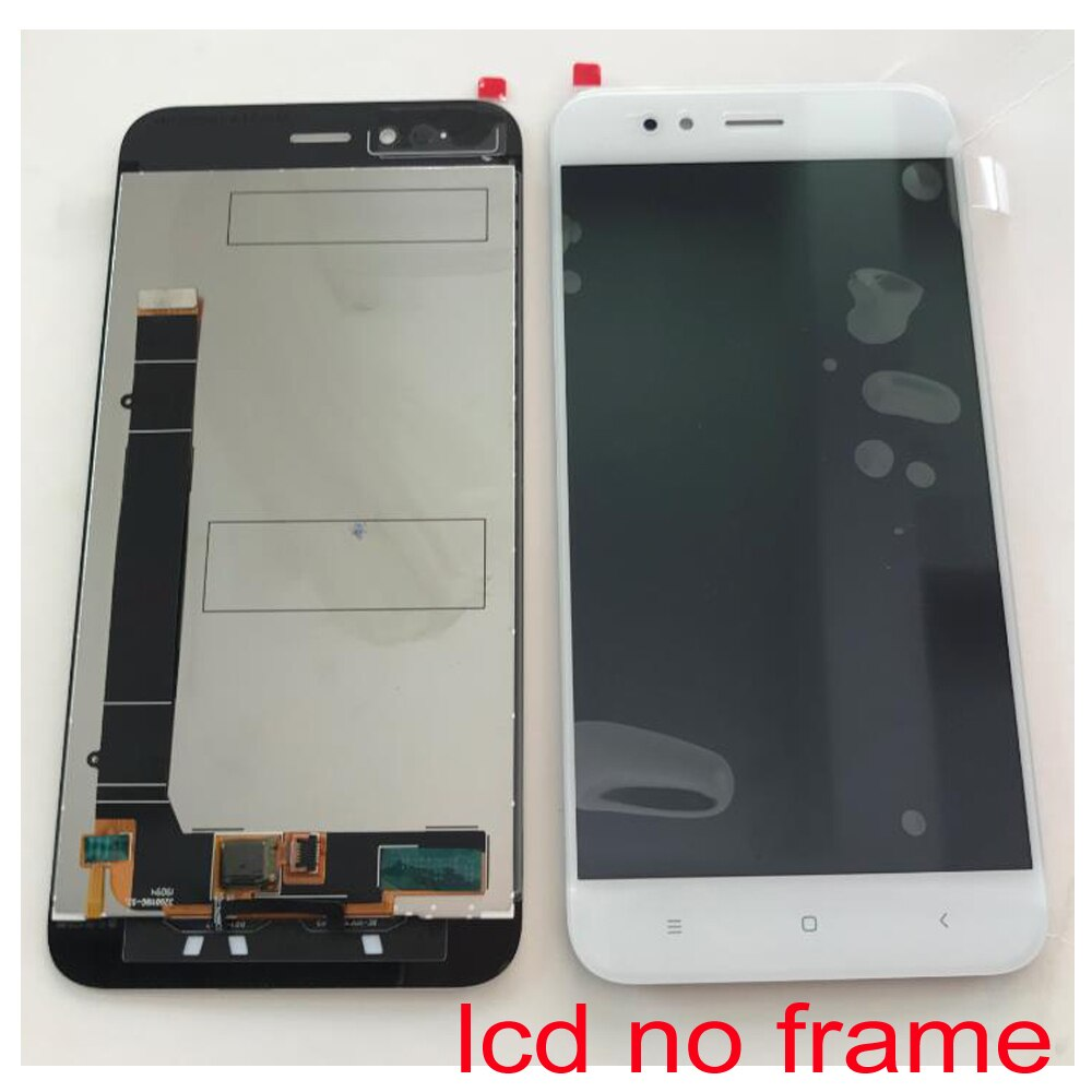 Best Working 100% Original Mi5x LCD Display Touch Screen Digitizer Assembly Sensor with Frame For Xiaomi Mi A1 MiA1 MA1 5X M5X enlarge