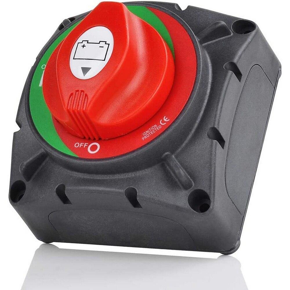 600A, interruptor de desconexión de batería de coche, interruptor de encendido/apagado, botón de Control, interruptor de desconexión, relés para coches, accesorios de alimentación