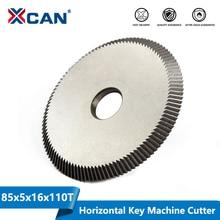 XCAN 1pc 키 커팅 머신 블레이드 80x5x16mm 110T 키 기계 커터 키 기계 예비 부품 자물쇠 도구 원형 톱 블레이드