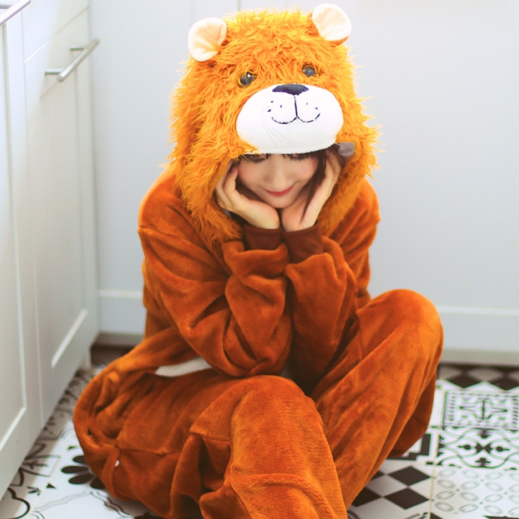 Pijama de unicornio Kigurumi para mujer, conjuntos de Pijamas de animales, Pijamas de animales, ropa de dormir de punto, camisón de unicornio