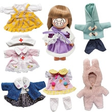 Beautiful Doll Clothes for 25cm Dolls Accessories Outfits Fit 1/6 BJD Doll Lovely Set Baby Doll Dres