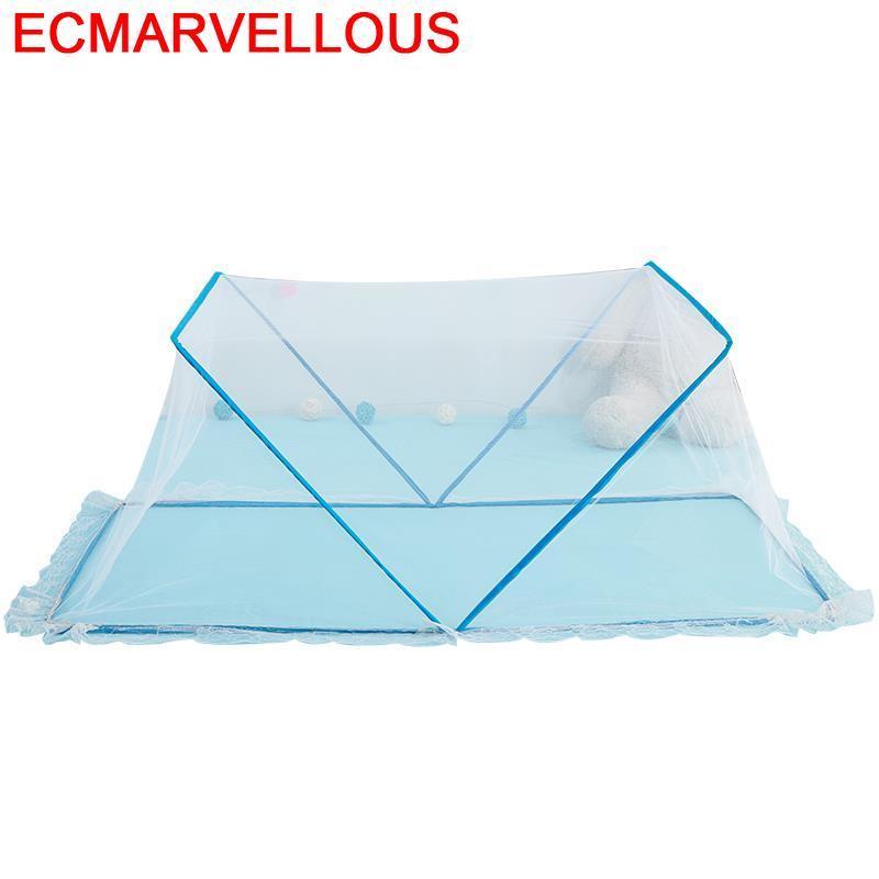 ناموسية مزخرفة بنمط بيك ، ستارة سرير مع إضاءة داخلية مزخرفة ، شبكة ناموس Klamboe للأطفال