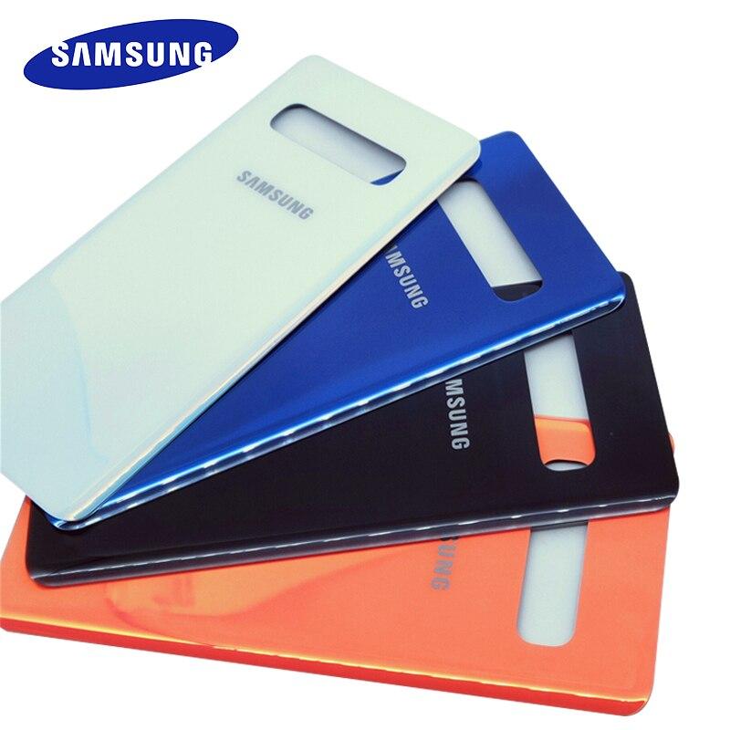 Samsung galaxy s10 plus s10 + g9750 SM-G9750 s10 g9730 SM-G9730 vidro volta bateria capa de habitação porta traseira caso substituição