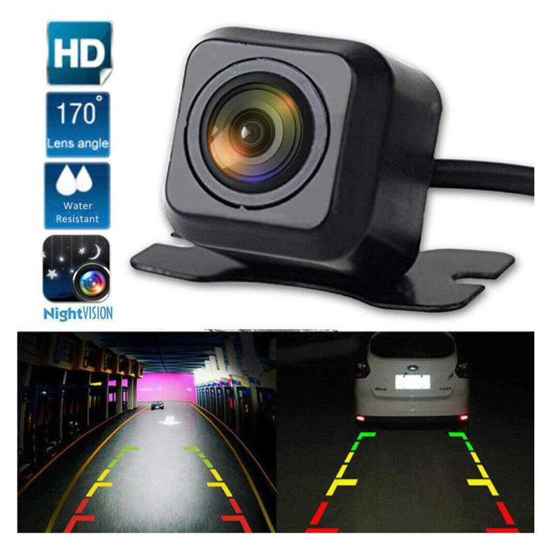 Универсальная автомобильная камера заднего вида, HD камера ночного видения, монитор парковки автомобиля, водонепроницаемая камера заднего ...