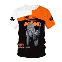 2021 mens 3dt shirt brand new factory racing cool short top k tm shirt short sleeve outdoor t shirt summer sportswear 110 6xl