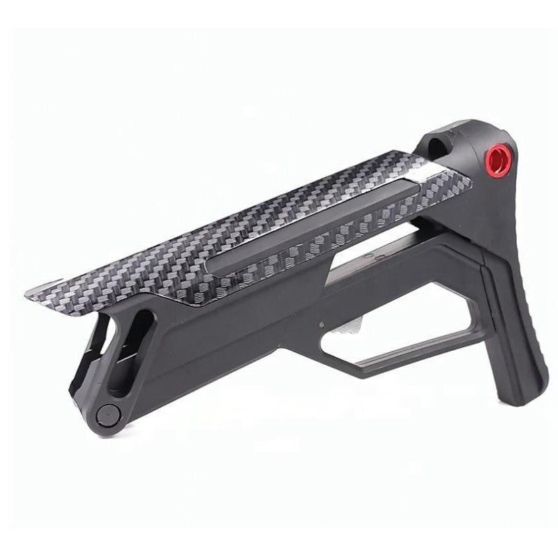 Mil-Spec AR M16 M4 Stock Recevier Buttstock Stable Pistol Brace Gel Blaster Tactical Butt Airsoft Gun Stock Paintball Accessory