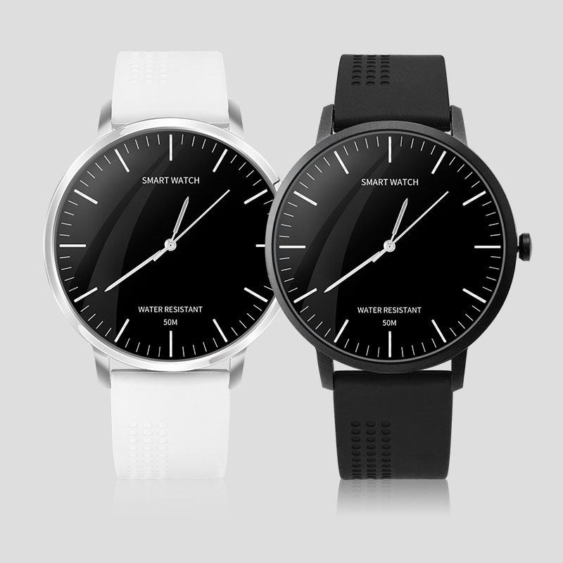 Masculino e Feminino Inteligentes de Quartzo Ponteiro e Módulo Pedômetro à Prova Relógios Inteligente Pulseira Bluetooth Esportes Dwaterproof Água Relógio