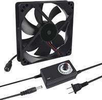 120mm x 25mm 110v 220v ac powered cooling fan with speed controller 3v to 12v 1225 ac 115v 120v 220v 240v for cooling