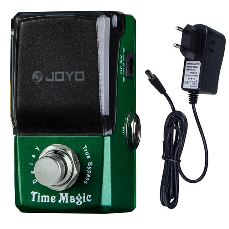 JOYO JF-304 Time Magic Digital Delay Pedal Guitar Effect Pedal for Electric Guitar Bass Delay Effect Pedal