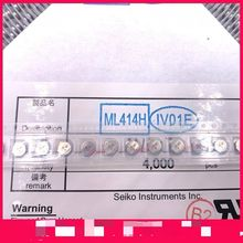 10~50PCS    Brand new imported   ML414H   ML414H-IV01E 3V button battery can be recharged memory bat