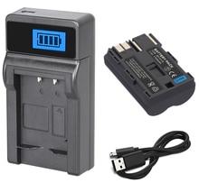 Batería + cargador para Canon BP-508, BP-511A, BP511A, BP-511, BP511, BP-512, BP512, BP-512A, BP-514 litio recargable