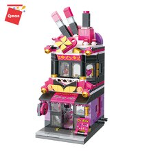 C0103 Enlighten Mini Street View Building Blocks Department Make up Store Compatible kennied Bricks Shop Toys Gifts For Children