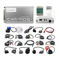 carprog full perfect online version firmware v8 21 with all 21 adapters full authorization ecu chip tunning car diagnostic tool