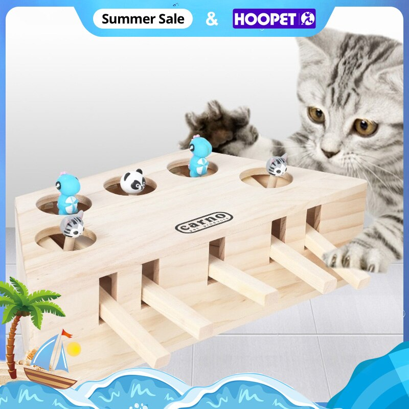 AliExpress - HOOPET Cat Interactive Pet Cat Toy Play Catch Toy Playing Exercise Toys Pet Products
