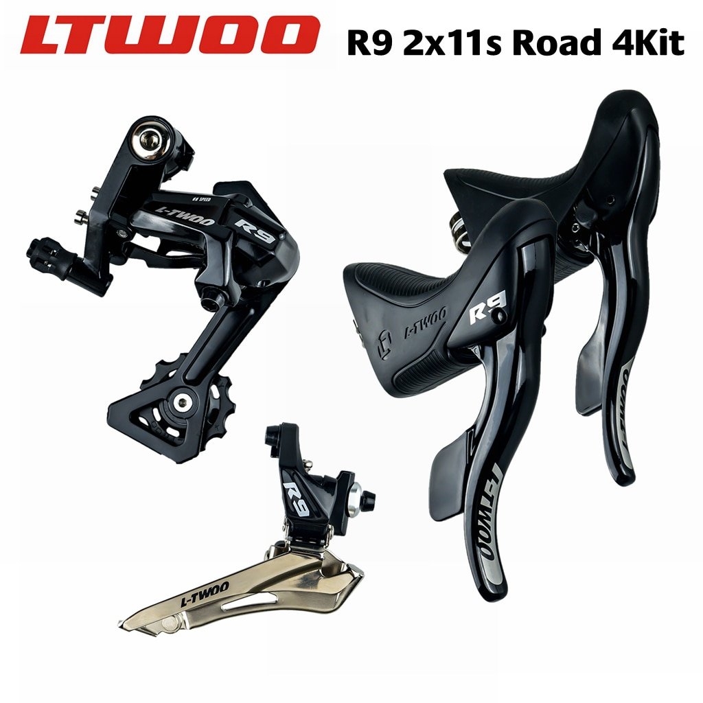 LTWOO R9 2x11 سرعة ، 22s الطريق Groupset ، شيفتر + الخلفية Derailleurs + الجبهة Derailleurs 5800 ، R7000